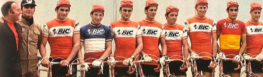 maillot velo Bic