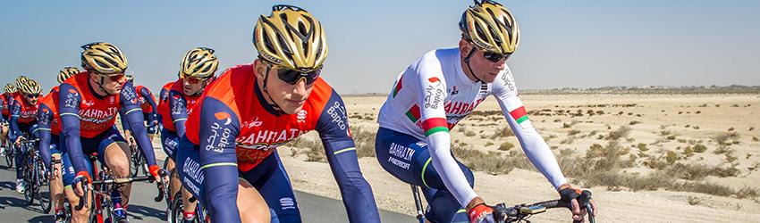 maillot velo Bahrain-Merida